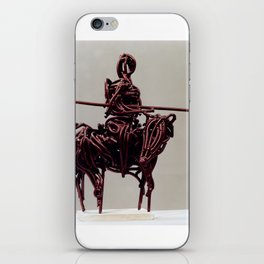 Don Quixote by Shimon Drory iPhone Skin