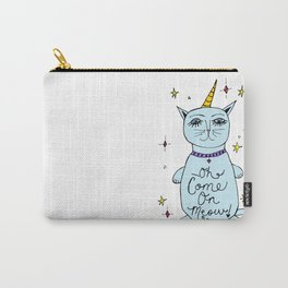 Oh come on meow! Carry-All Pouch