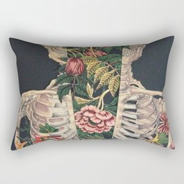 Skeleton of flowers Rectangular Pillow