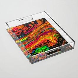 Neon Lights Acrylic Tray