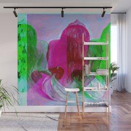 Lei watercolor Wall Mural