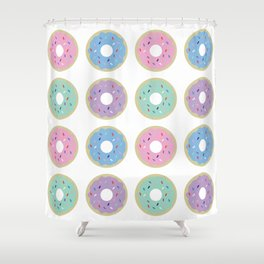 Guilt Free Donuts Shower Curtain