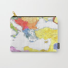 The Ancient Mediterranean Carry-All Pouch