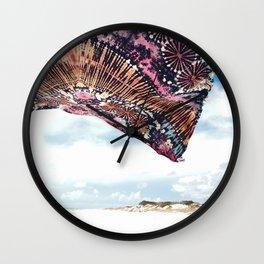 life is a beach - wanderlust Wall Clock