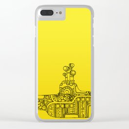 Yellow Submarine Solo Clear iPhone Case