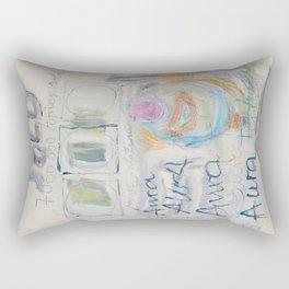 Top Aura. 7,000,000 copies sold Rectangular Pillow