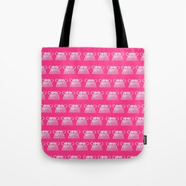Small elephant print Hmong Tote Bag