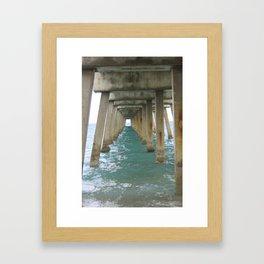 Pier 2 Framed Art Print