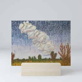 Storm Brewing Mini Art Print