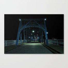 Walnut Street Bridge Canvas Print