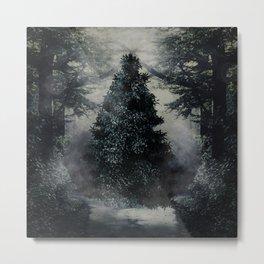 hidden tree Metal Print