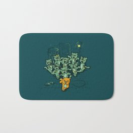 Zombie Cats Bath Mat