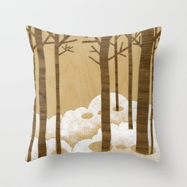 Forest is Alive! Throw Pillow