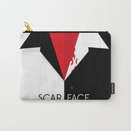 Scarface Minimalist Movie Poster Carry-All Pouch