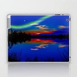 North light over a lake Laptop & iPad Skin