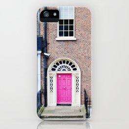 georgian dublin iPhone Case