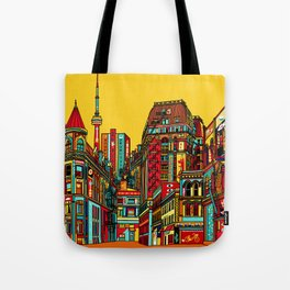 Sound of the city Tote Bag