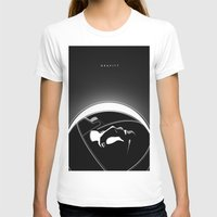 gravity T-shirts featuring Gravity by justjeff
