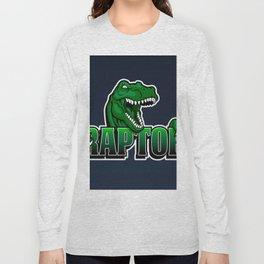 cartoon raptor Long Sleeve T-shirt