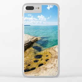 The Coves on Lake Superior - Pictured Rocks Clear iPhone Case