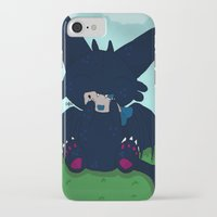 toothless iPhone & iPod Cases featuring Toothless by DaemonDeDevil