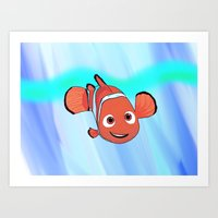 nemo Art Prints featuring Nemo by paulusjart