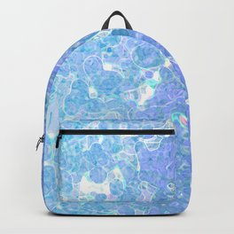 Winter Wonders In Blue Backpack