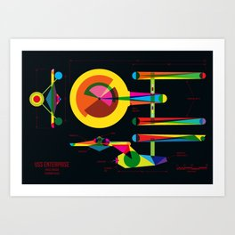 Enterprise Art Print