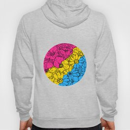 Pansexual Flowers Hoody