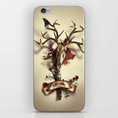 Blight, alternate version iPhone & iPod Skin
