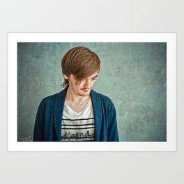 Sergey Silvertone  Art Print