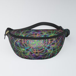 looping lines Fanny Pack