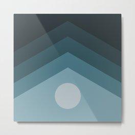 Moon-rise Metal Print
