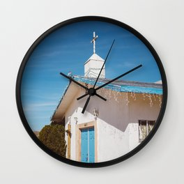Desert Church II Wall Clock