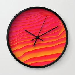 Heat Burst Wall Clock