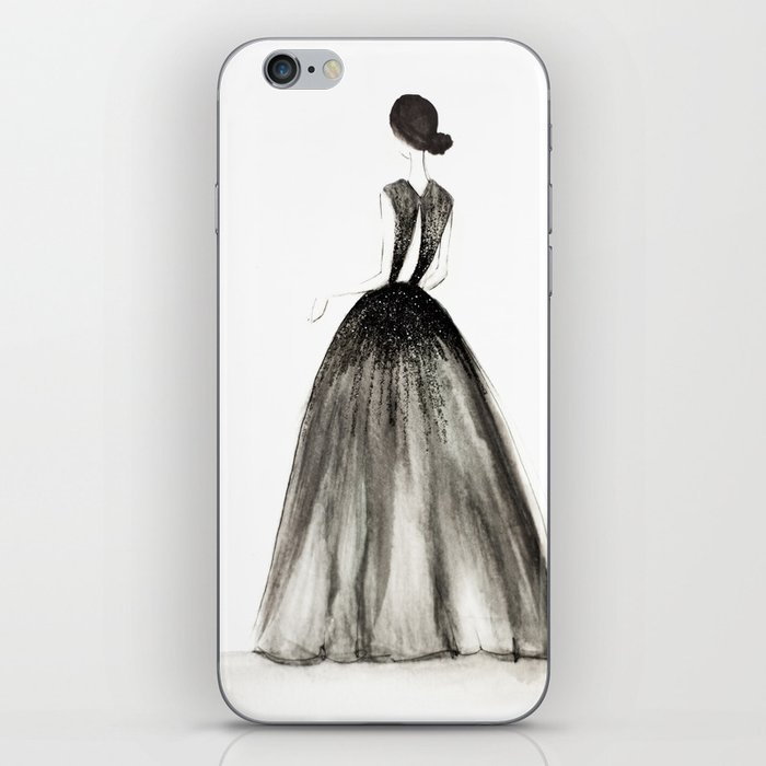 Midnight Gown iPhone Skin