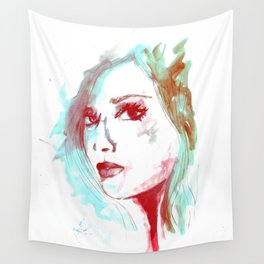 Lady Mint Wall Tapestry