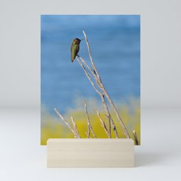 beach hummer Mini Art Print