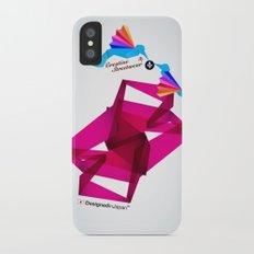 Paper Birds Slim Case iPhone X