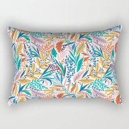 Exotic Leaves Pattern 1 Rectangular Pillow
