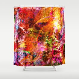 Effervescent Shower Curtain