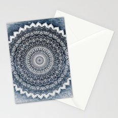 COLD WINTER MANDALA Stationery Cards
