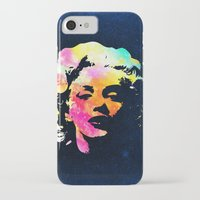 marilyn iPhone & iPod Cases featuring Marilyn by Fimbis