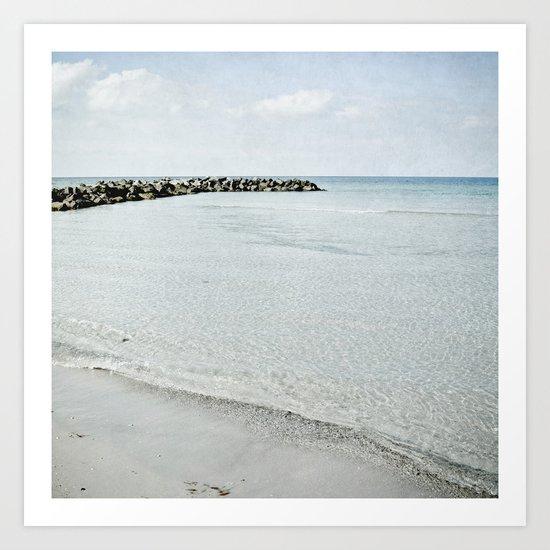 sea square IX Art Print