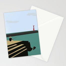 Island Fishing Stationery Cards