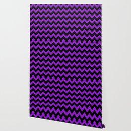 Purple Chevron Wallpaper