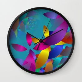 3D abstraction -19- Wall Clock