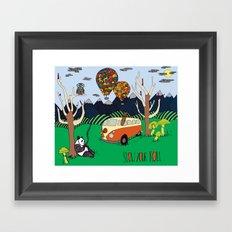 Slow Your Roll Homie Framed Art Print