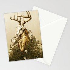 Deer secret. Stationery Cards
