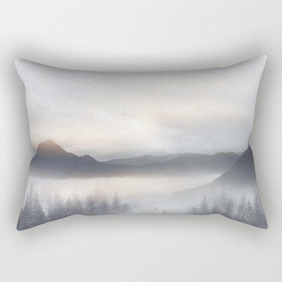 Sunrise in the Mountains Rectangular Pillow